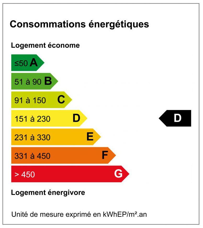 Diagnostique de Performance Energétique - DPE D